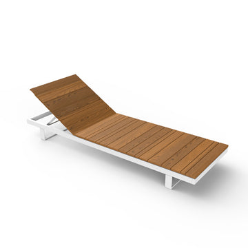 Pure Sunlounger Wood