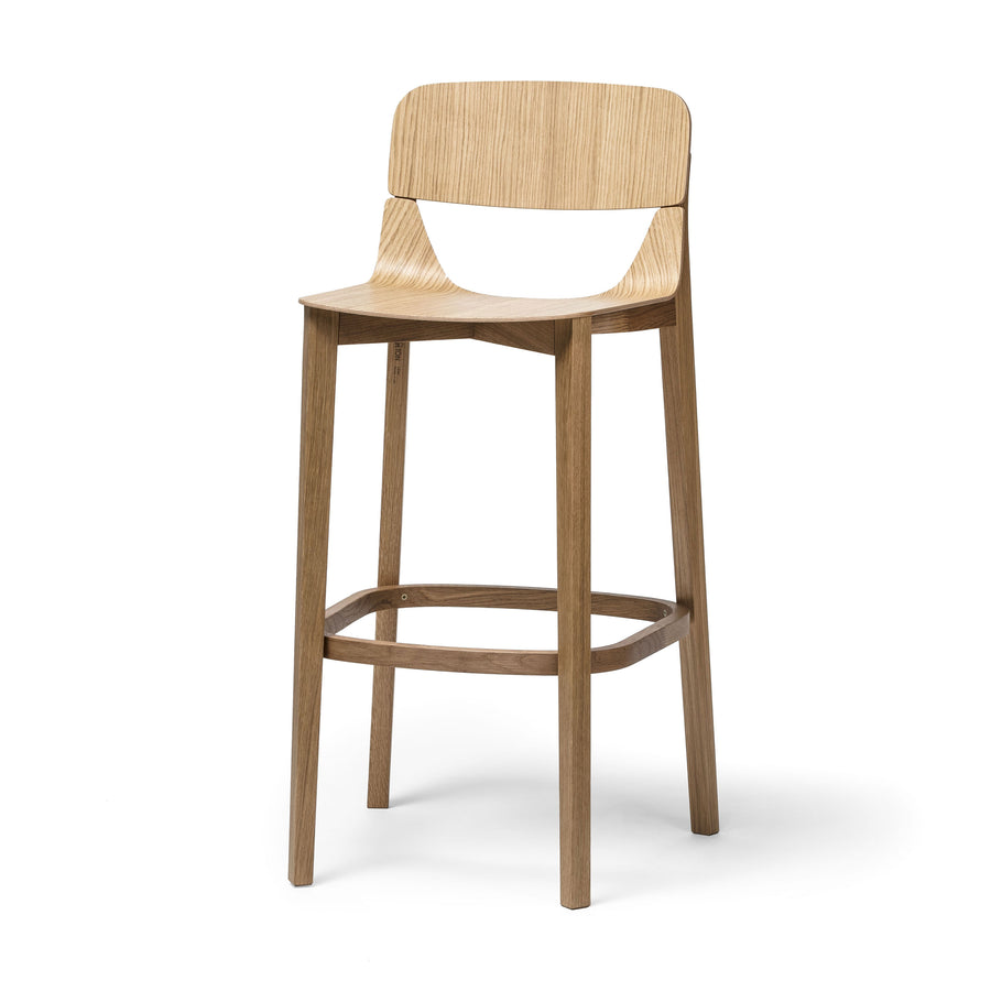 Leaf Barstool with Backrest
