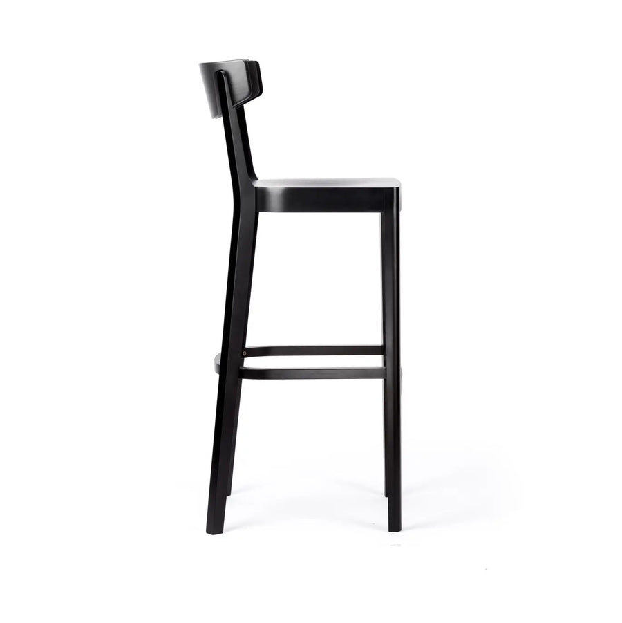 Barstool Prag with Backrest