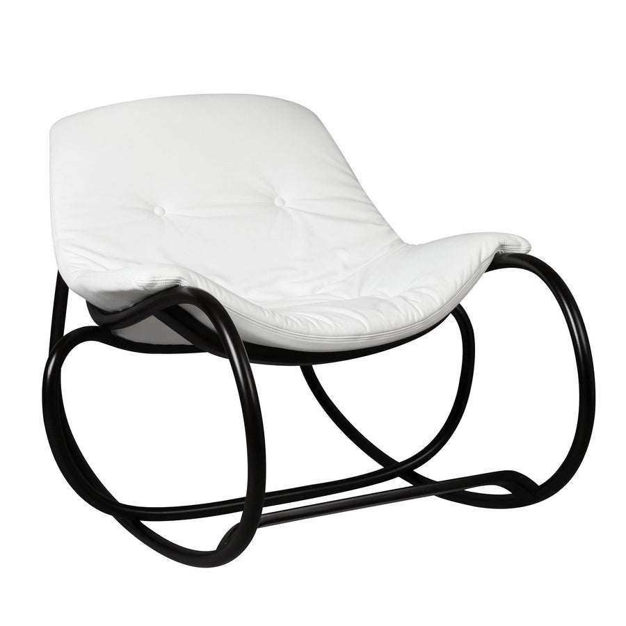 Wave rocking armchair