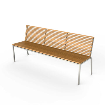 Home Bench with Backrest