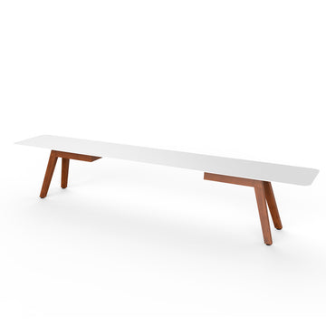 Slim Wood Bench
