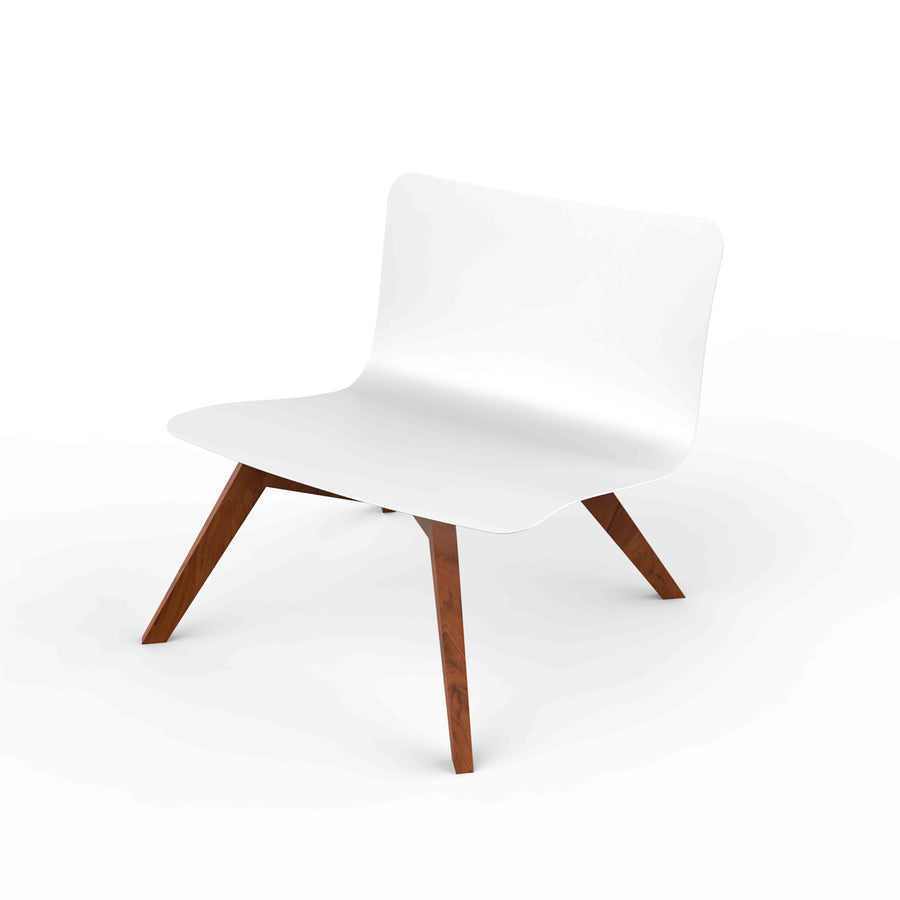 Slim Lounge Chair Wood