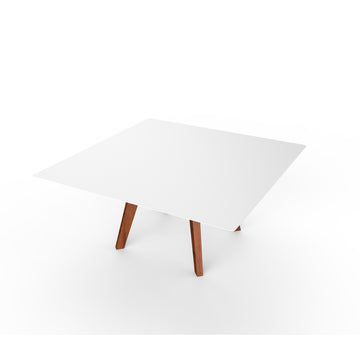 Slim Lounge Table Wood - Square