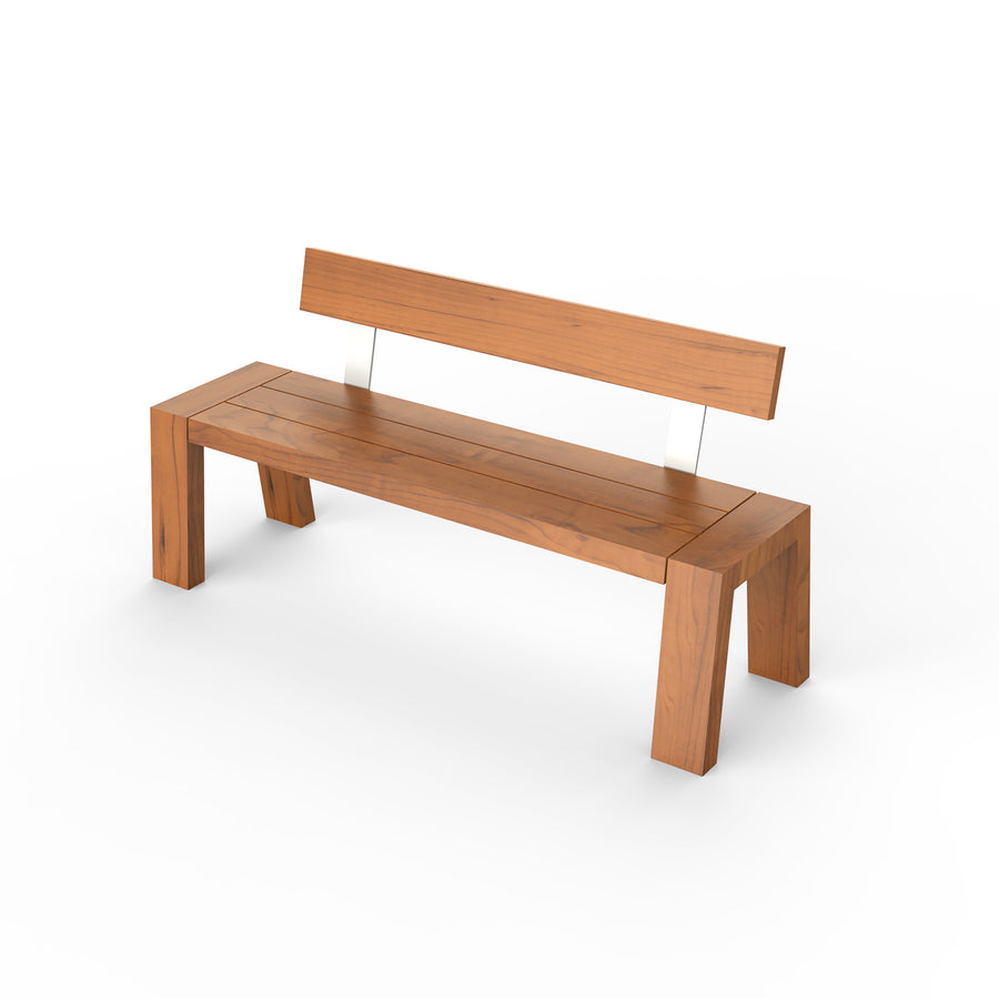 Solo Bench with Backrest