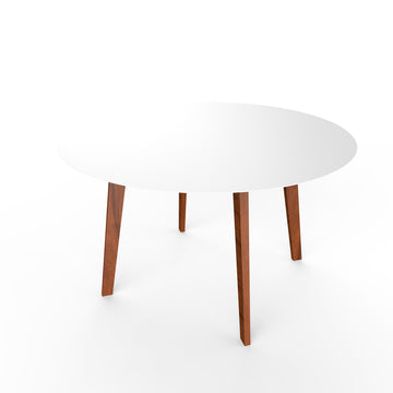 Slim Table Wood - Round
