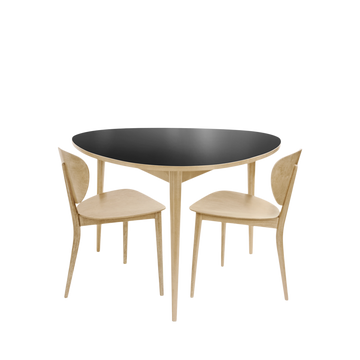 Three-Round Dining Table