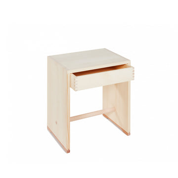Ulmer Stool with Drawer