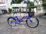 "City Bike 20"" FASHION Singlespeed"