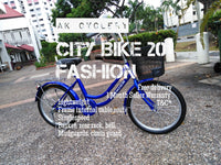 City Bike FASHION Singlespeed