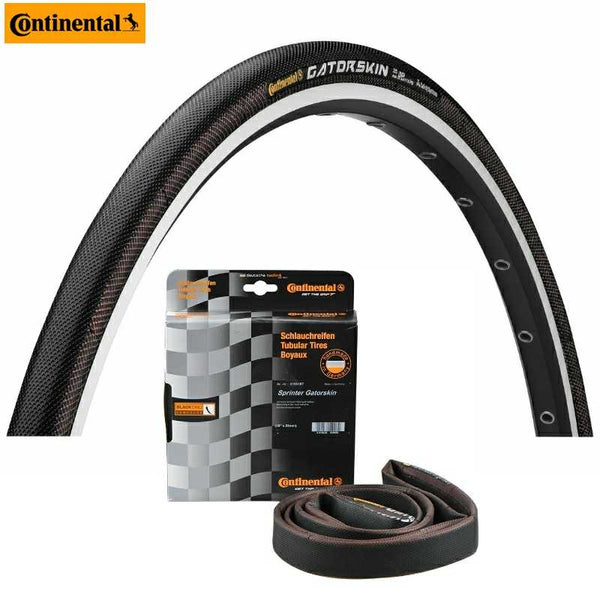 "Tyre Tubular CONTINENTAL Sprinter GatorSkin (28""x22mm)"