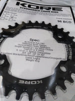 Chainring KORE OVAL-M9000 96BCD 32T Black