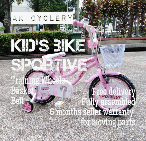 Kid's Bike SPORTIVE Paris