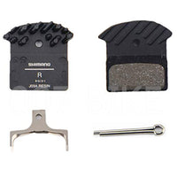 SHIMANO J03A Cooling Fins Brake Pads compatible with Brake M615/M6000/M675/M7000/M785/M8000/M9000/M9020