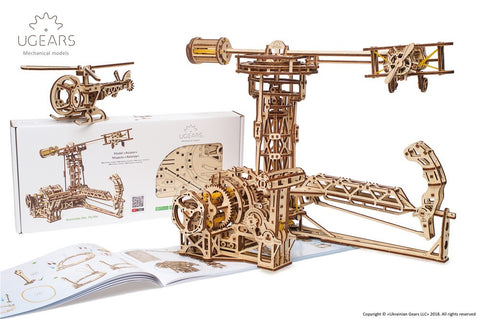 Aviator mechanical model kit