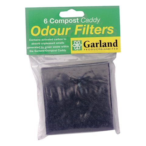 6 Compost Caddy Odour Filters