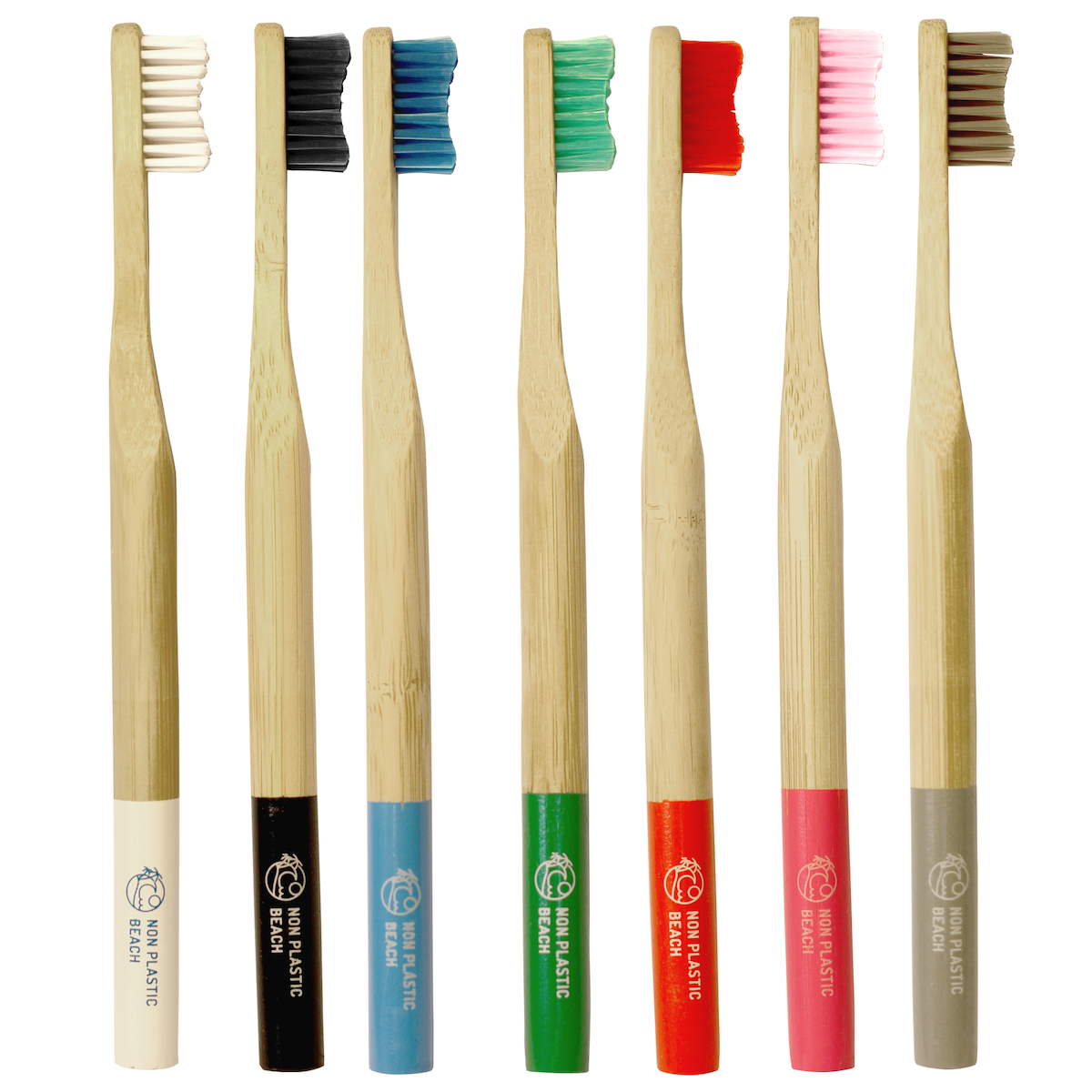 Biodegradable & Sustainable Bamboo Toothbrush (Adult)