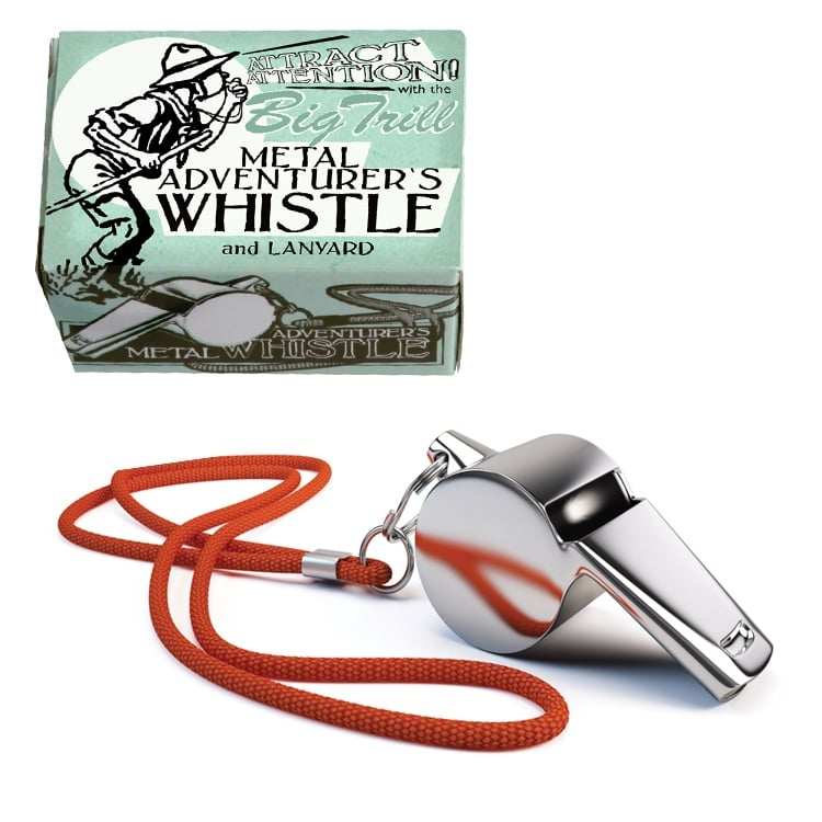 Juniors Adventure Whistle