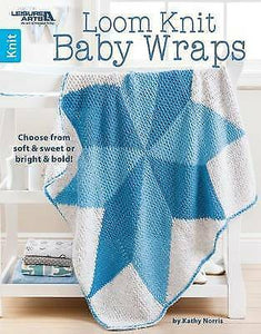 Loom Knit Baby Wraps: Choose from Soft & Sweet or Bright & Bold!