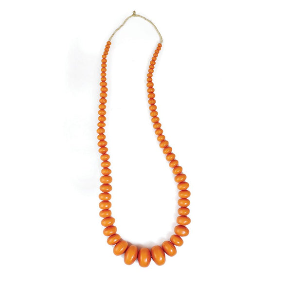 Extra Large Amber Beaded Necklace