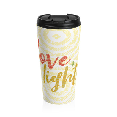 Love & Light Stainless Steel Travel Mug