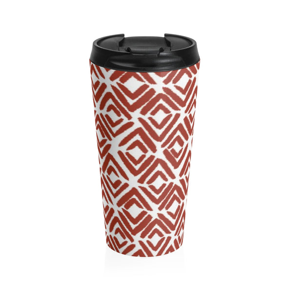 Tribal Prints Stainless Steel Travel Mug