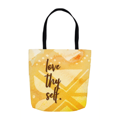 Love Thy Self Tote Bags