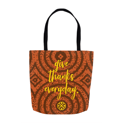 Give Thanks Tote Bags
