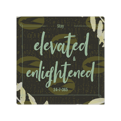 Elevated & Enlightened Canvas Wraps