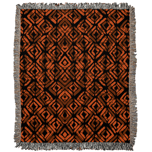 Rustic African Woven Blankets