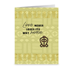 Love Never Loses Anniversary Cards