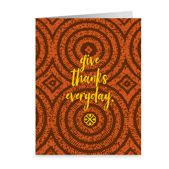 Give Thanks Blank Card