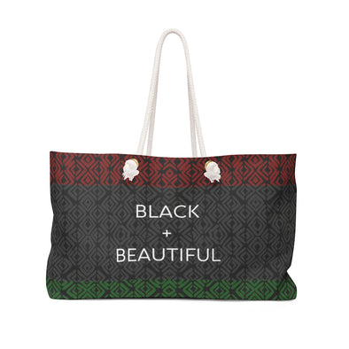 Black & Beautiful Weekender Bag