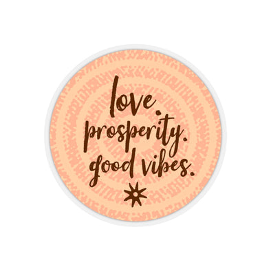Prosperity Kiss-Cut Stickers