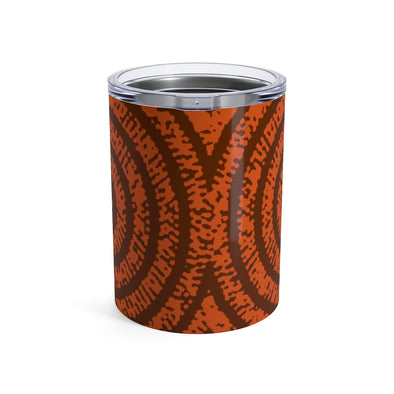 Orange Prints Tumbler 10oz