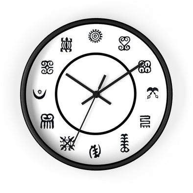 Adinkra Wall clock