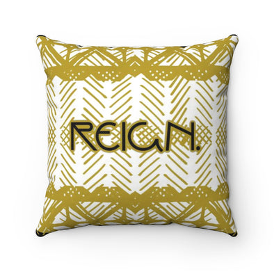 Reign Throw Pillow Print Mali | Spun Polyester Square Pillow