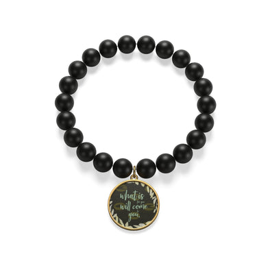 Come to You Matte Onyx Bracelet