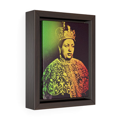 Empress Menen I Vertical Framed Premium Gallery Wrap Canvas