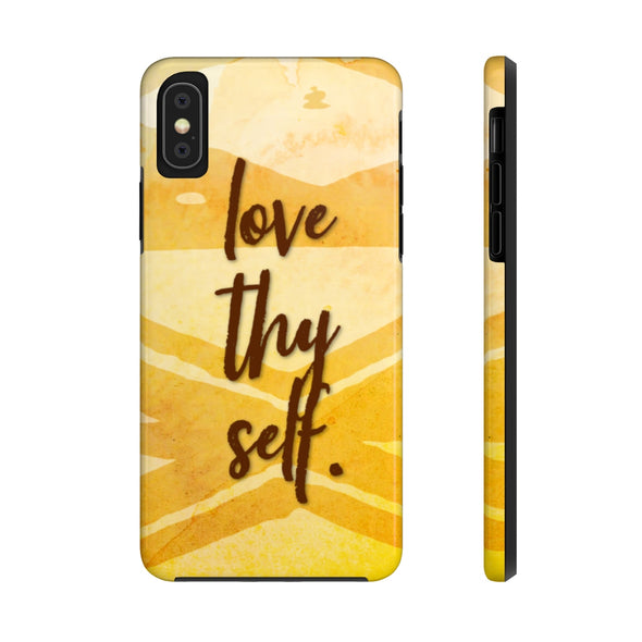 Love Thy Self Case Mate Tough Phone Cases