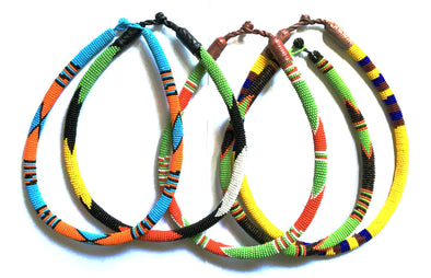 Vibrant Zulu Beaded Necklaces