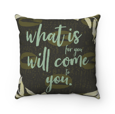 Come to you | Throw Pillow African Print