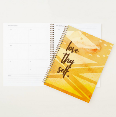 Monthly & Weekly Planner | Love Thy Self Print