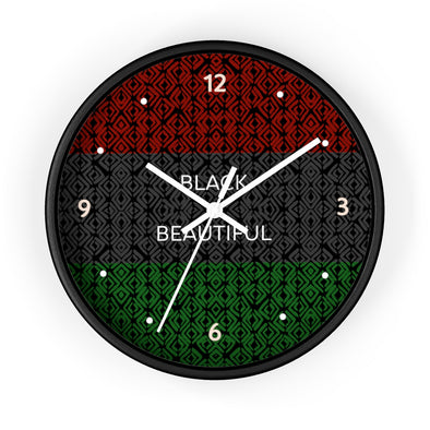 Black & Beautiful Wall clock
