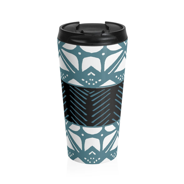 Mali Stainless Steel Travel Mug (Blue)