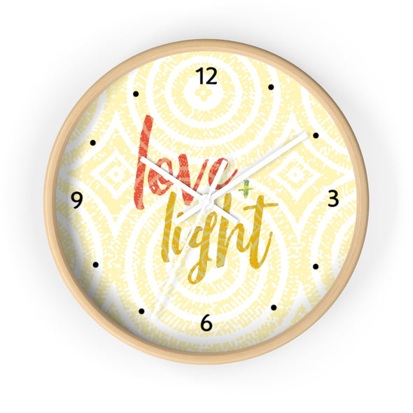 Love & Light Wall clock