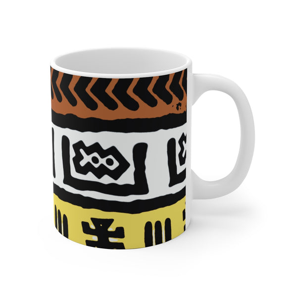 Fresh Prints White Ceramic Mug