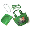 Sankofa | Hand-painted Mini Tote Handbag with Removable Pouch