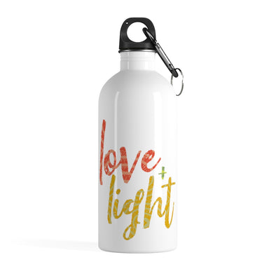 Love & Light Stainless Steel Water Bottle