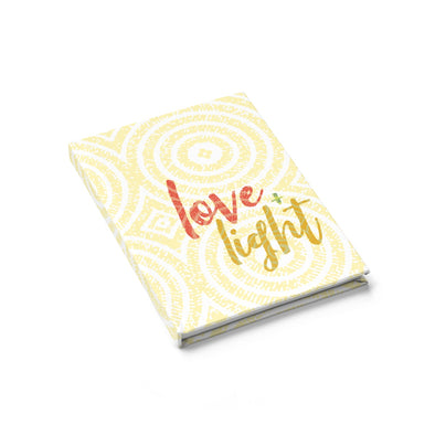 Love & Light Journal - Ruled Line